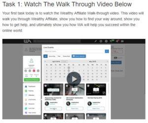 A Walk through video